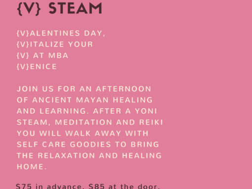 {V} ALENTINE'S STEAM